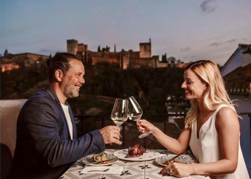 restaurantes de lujo en Granada